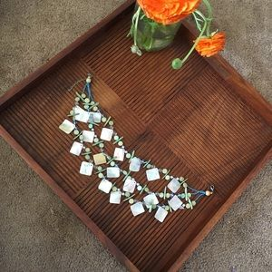 Jewelry - Tropical statement necklace